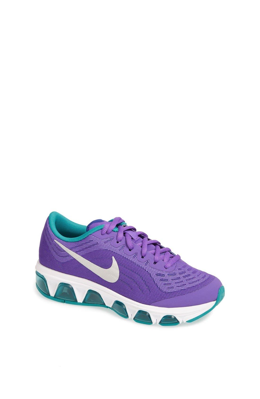 Alternate Image 1 Selected - Nike 'Air Max Tailwind+' Running Shoe (Big Kid)