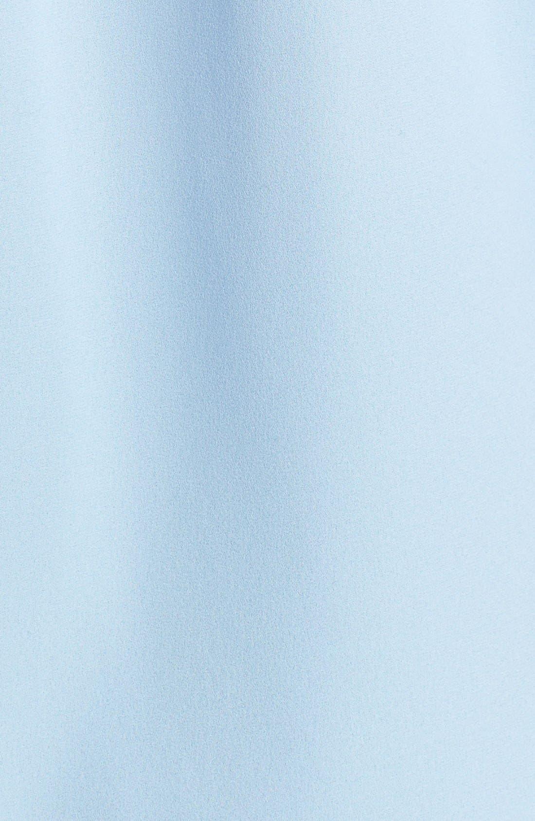 Alternate Image 5  - Michael Kors Long Silk Georgette Shirt