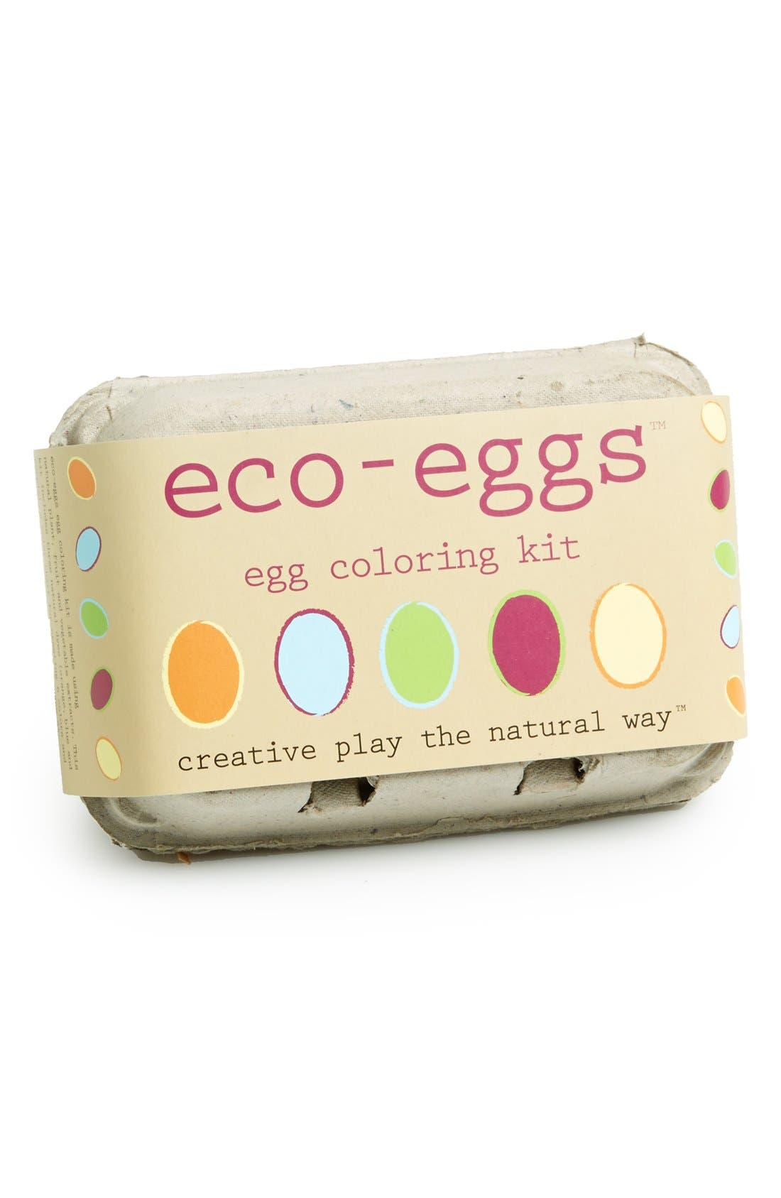 Alternate Image 1 Selected - Eco Kids 'Eco-Eggs' Egg Coloring Kit