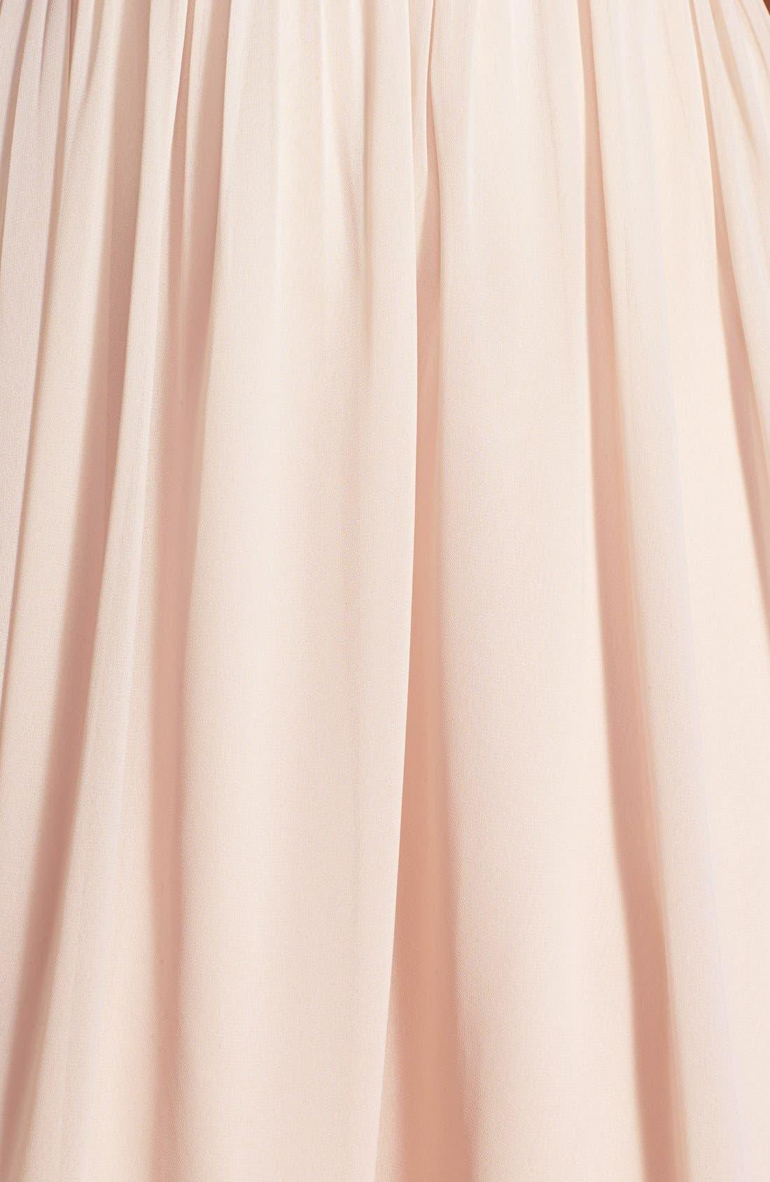 Alternate Image 8  - Jenny Yoo 'Keira' Convertible Strapless Chiffon Dress