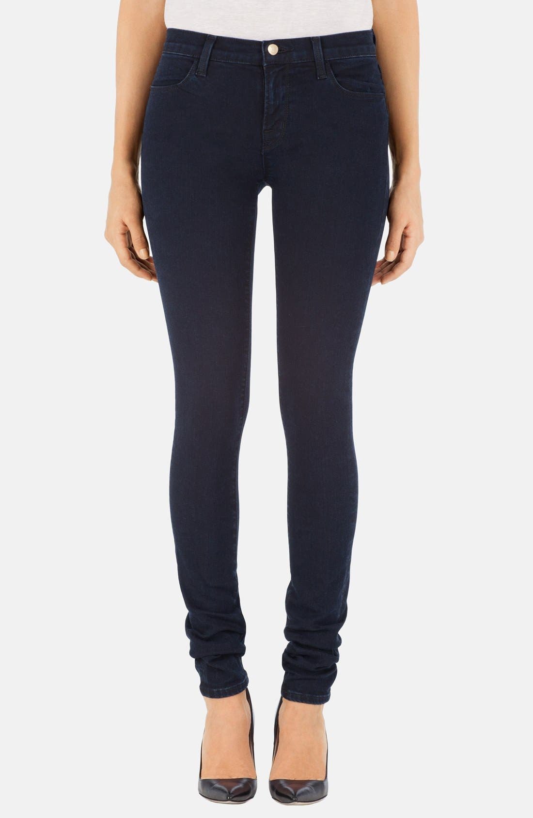 Main Image - J Brand Stacked Skinny Jeans (Bluebird)