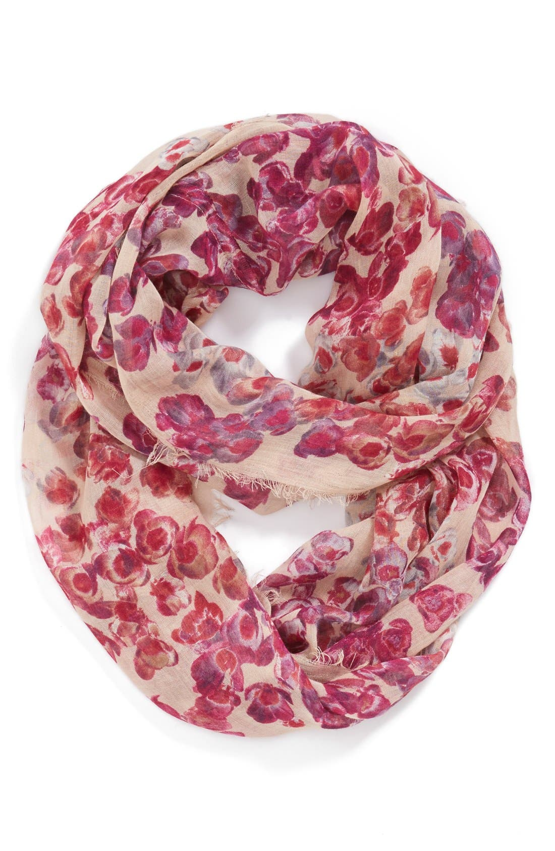 Main Image - BCBGeneration 'Blossom Loop' Infinity Scarf