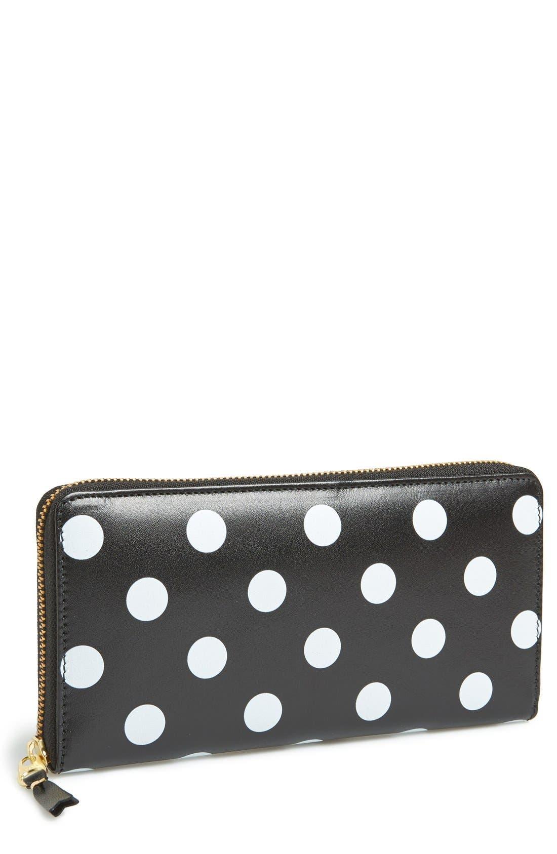Main Image - Comme des Garçons 'Polka Dot' Continental Wallet
