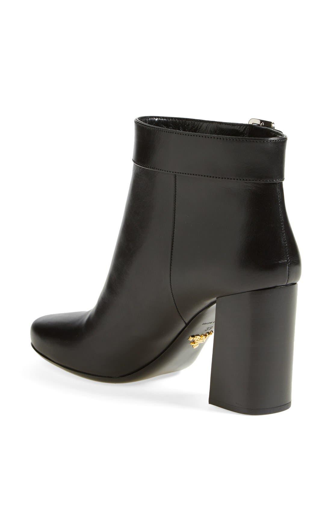 Alternate Image 2  - Prada Buckle Short Boot