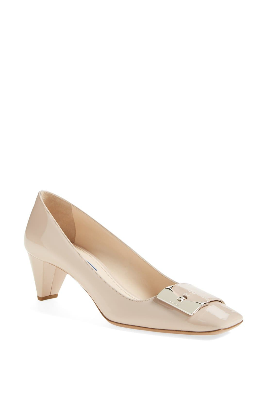 Main Image - Prada Buckle Pump