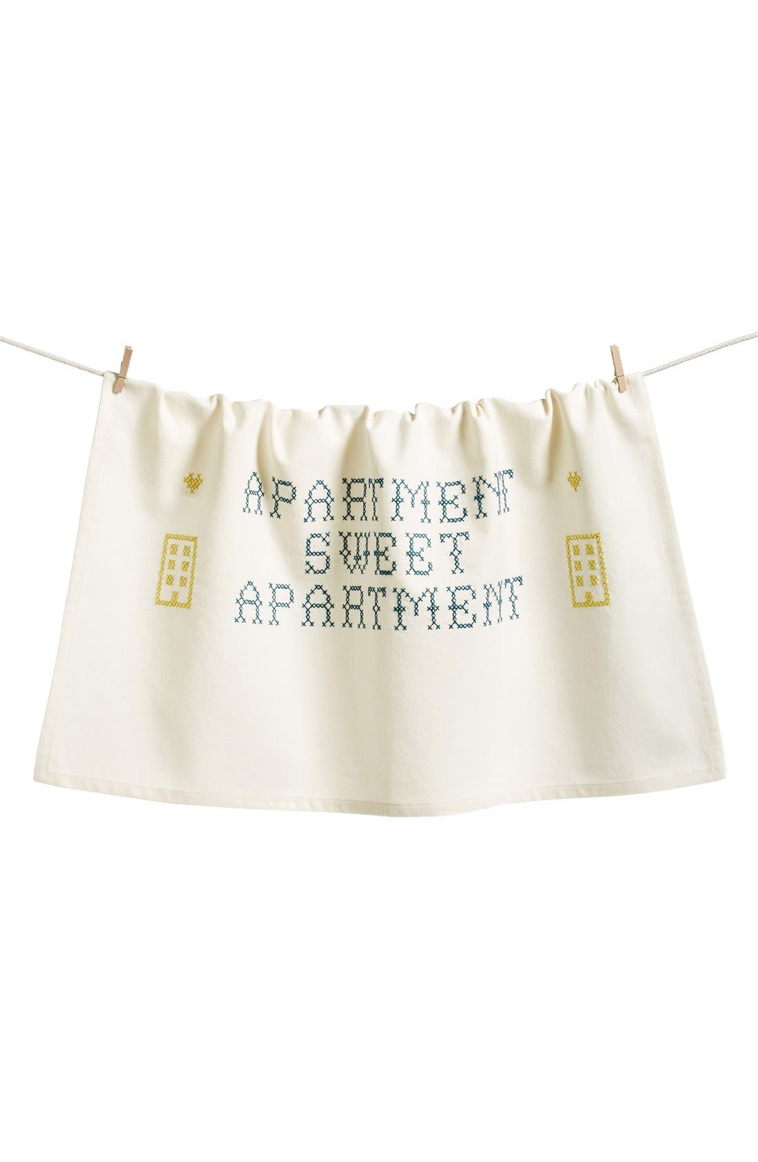 Alternate Image 1 Selected - Nordstrom at Home 'Sweet Apartment' Dish Towel