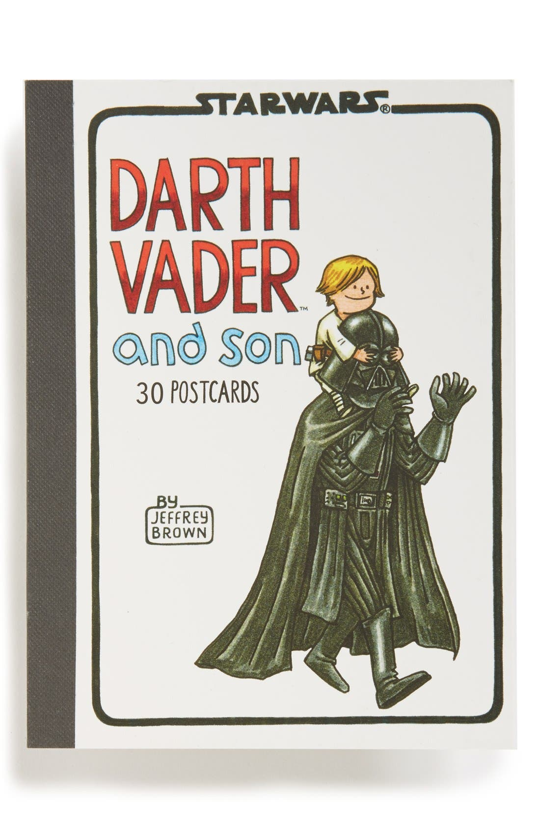 Alternate Image 1 Selected - Chronicle Books 'Darth Vader and Son' Postcards (Set of 30)