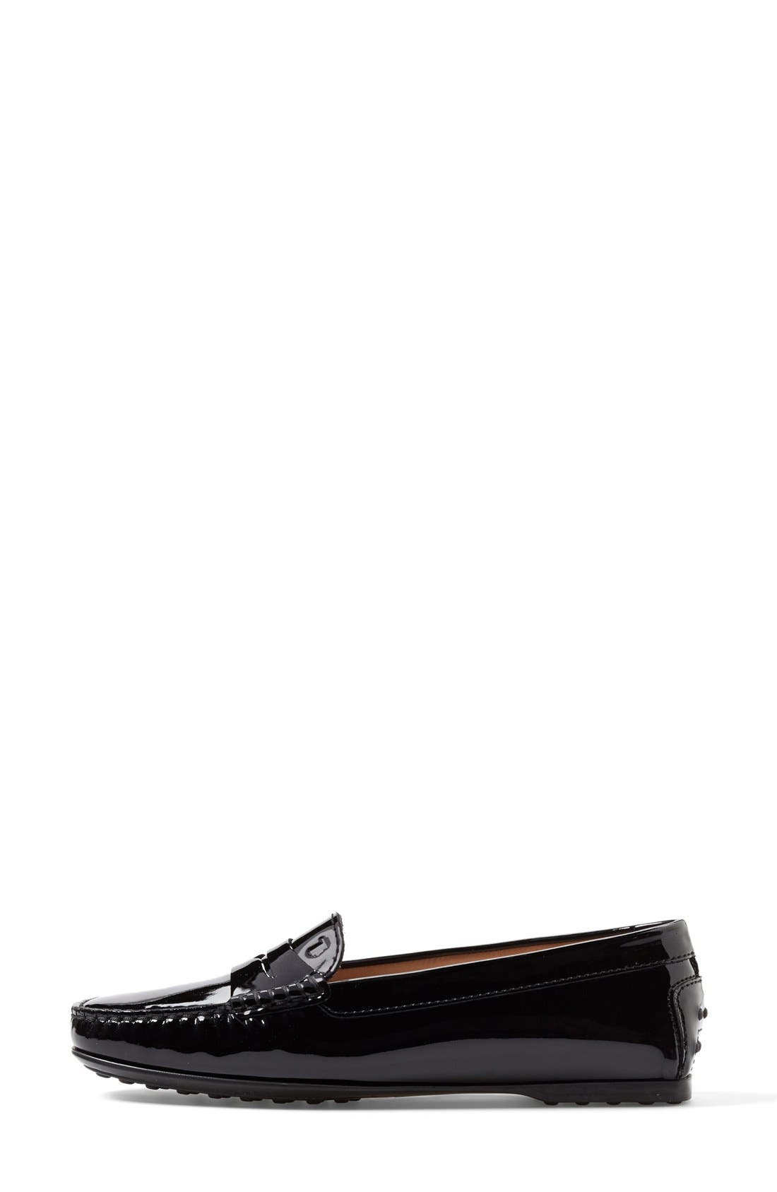 Alternate Image 4  - Tod's Patent Leather Penny Loafer (Women)