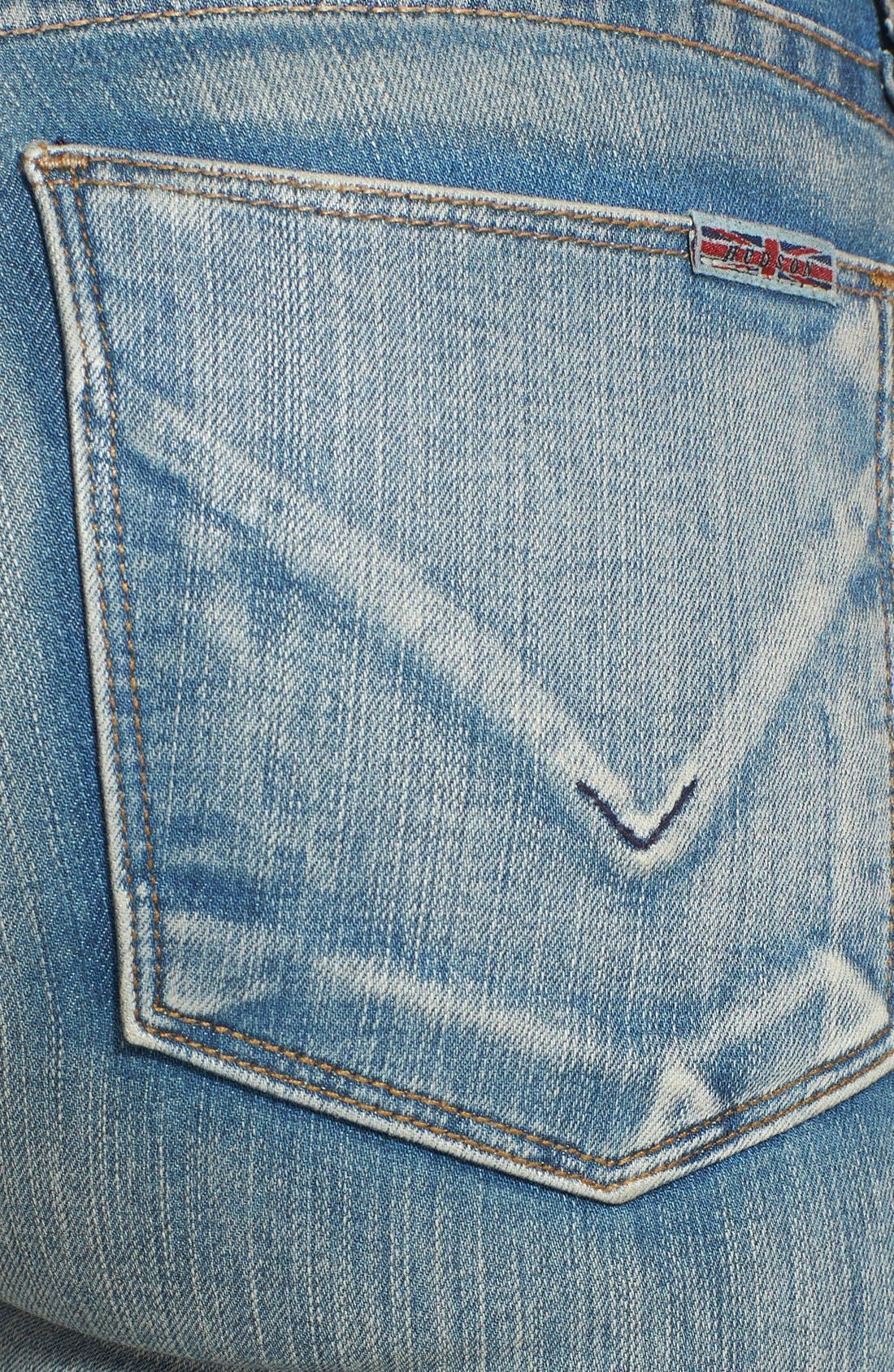 Alternate Image 3  - Hudson Jeans 'Krista' Super Skinny Jeans (Castles of Sand)