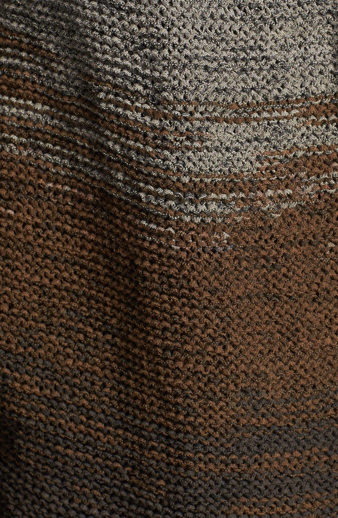 Alternate Image 3  - Curio Colorblock Open Front Cotton Blend Cardigan (Regular & Petite) (Online Only)