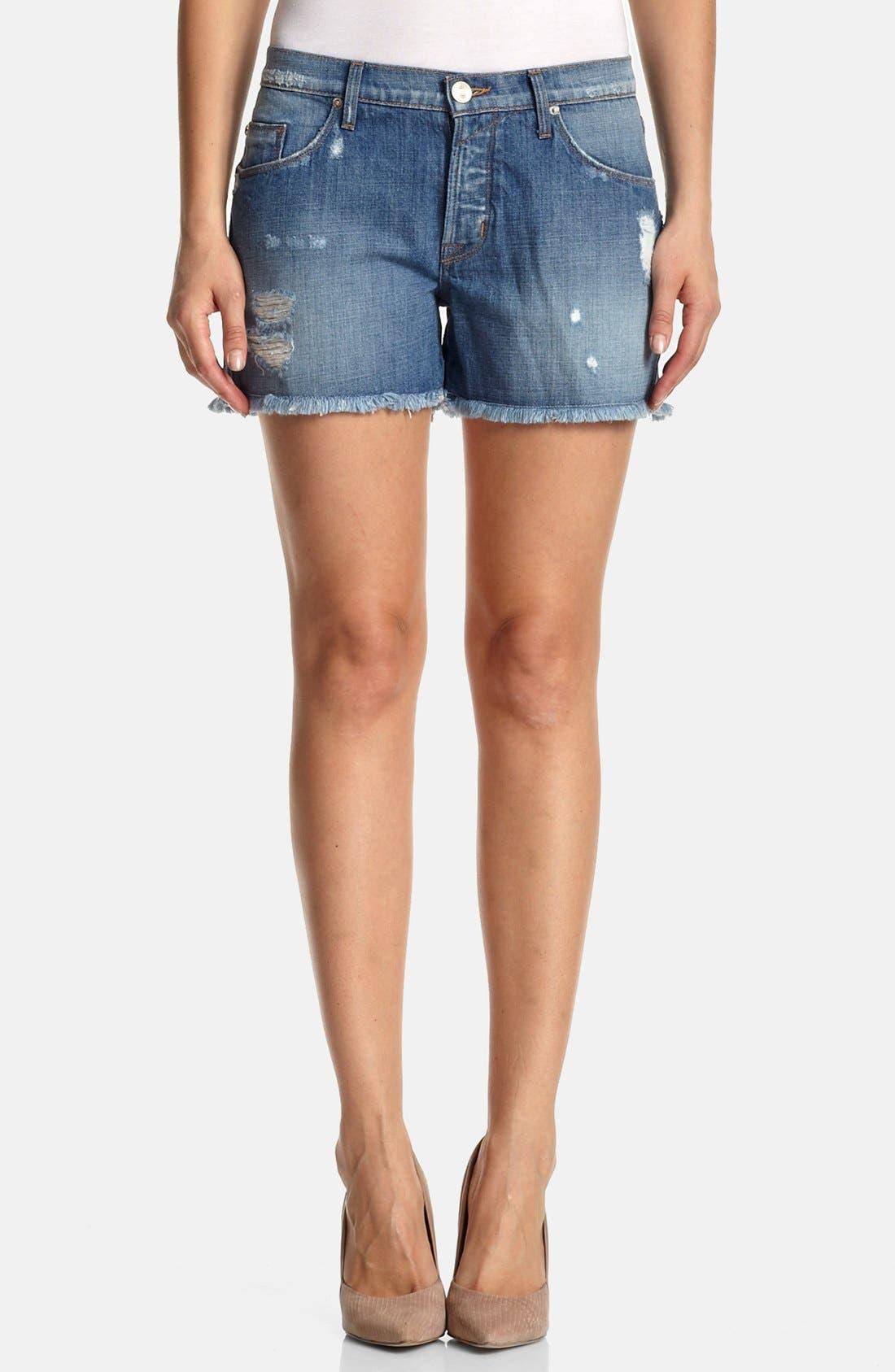 Main Image - Hudson Jeans 'Libertine' Cutoff Boyfriend Shorts (May This Be Love)