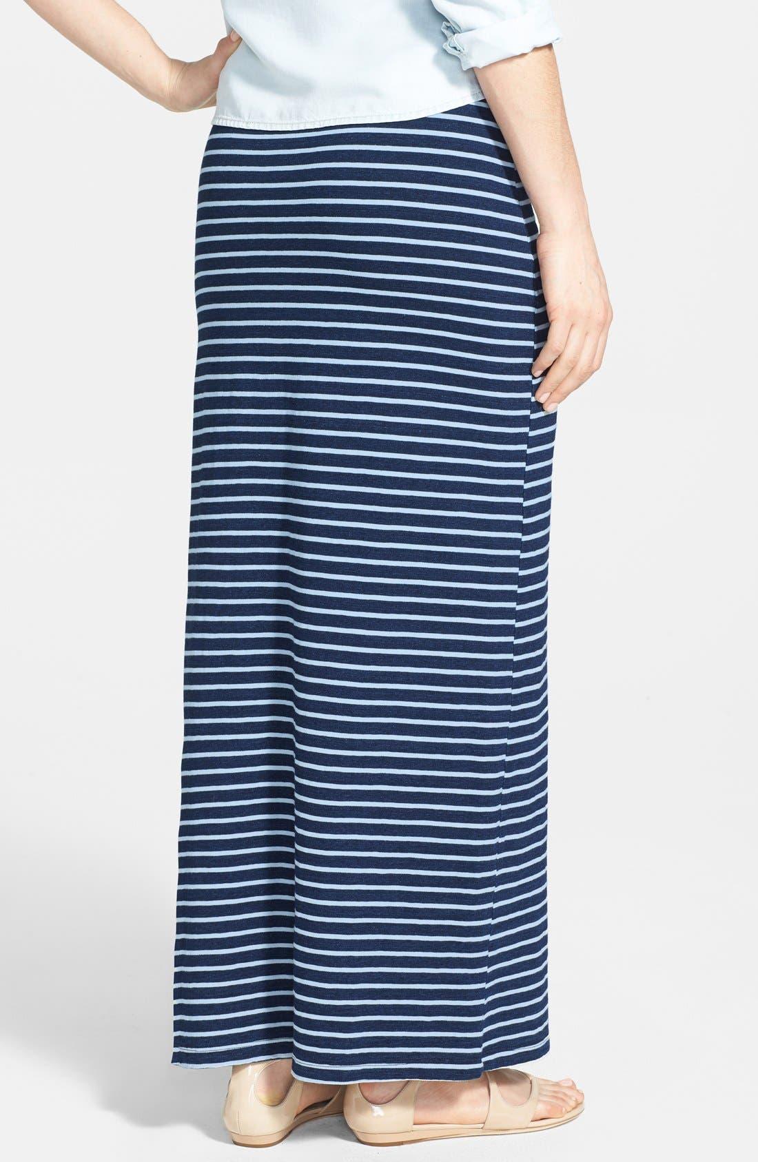 Alternate Image 2  - Splendid Stripe Maxi Skirt