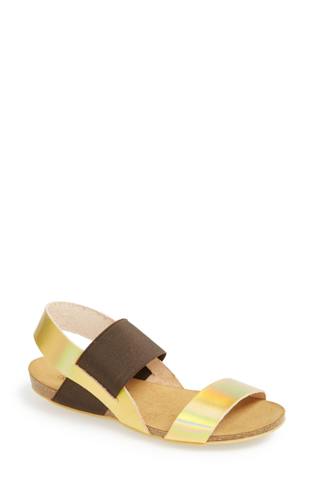 Main Image - MTNG Originals 'Annie' Colorblock Sandal