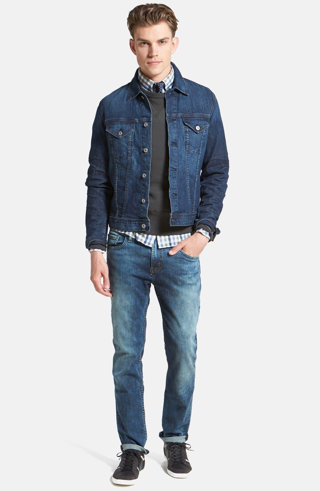 Alternate Image 5  - Levi's® '511™' Slim Fit Jeans (Blue Foam)