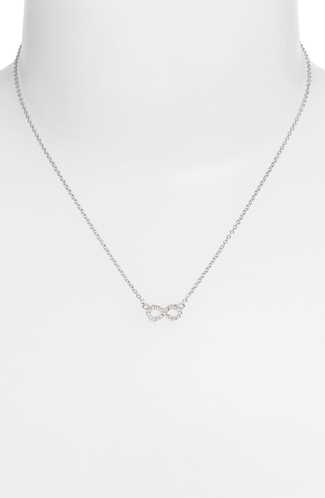 Alternate Image 2  - Judith Jack 'Mini Motives' Reversible Infinity Symbol Pendant Necklace