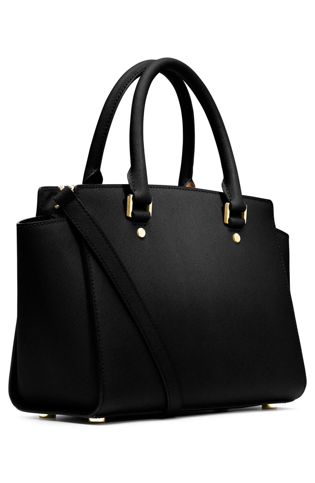 Alternate Image 3  - MICHAEL Michael Kors 'Medium Selma' Leather Zip Top Satchel
