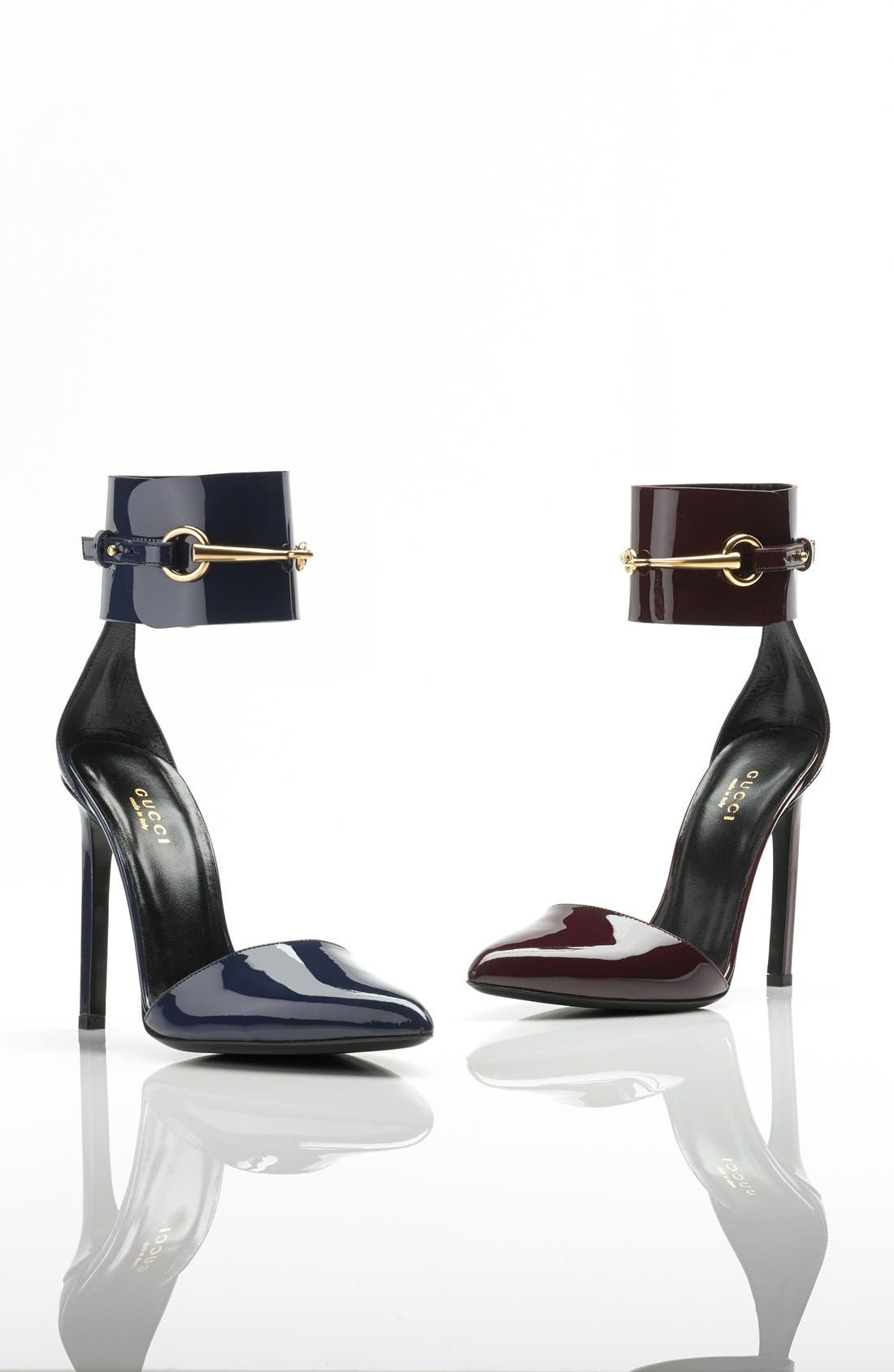 Alternate Image 5  - Gucci 'Ursula' Ankle Cuff Pointy Toe Pump
