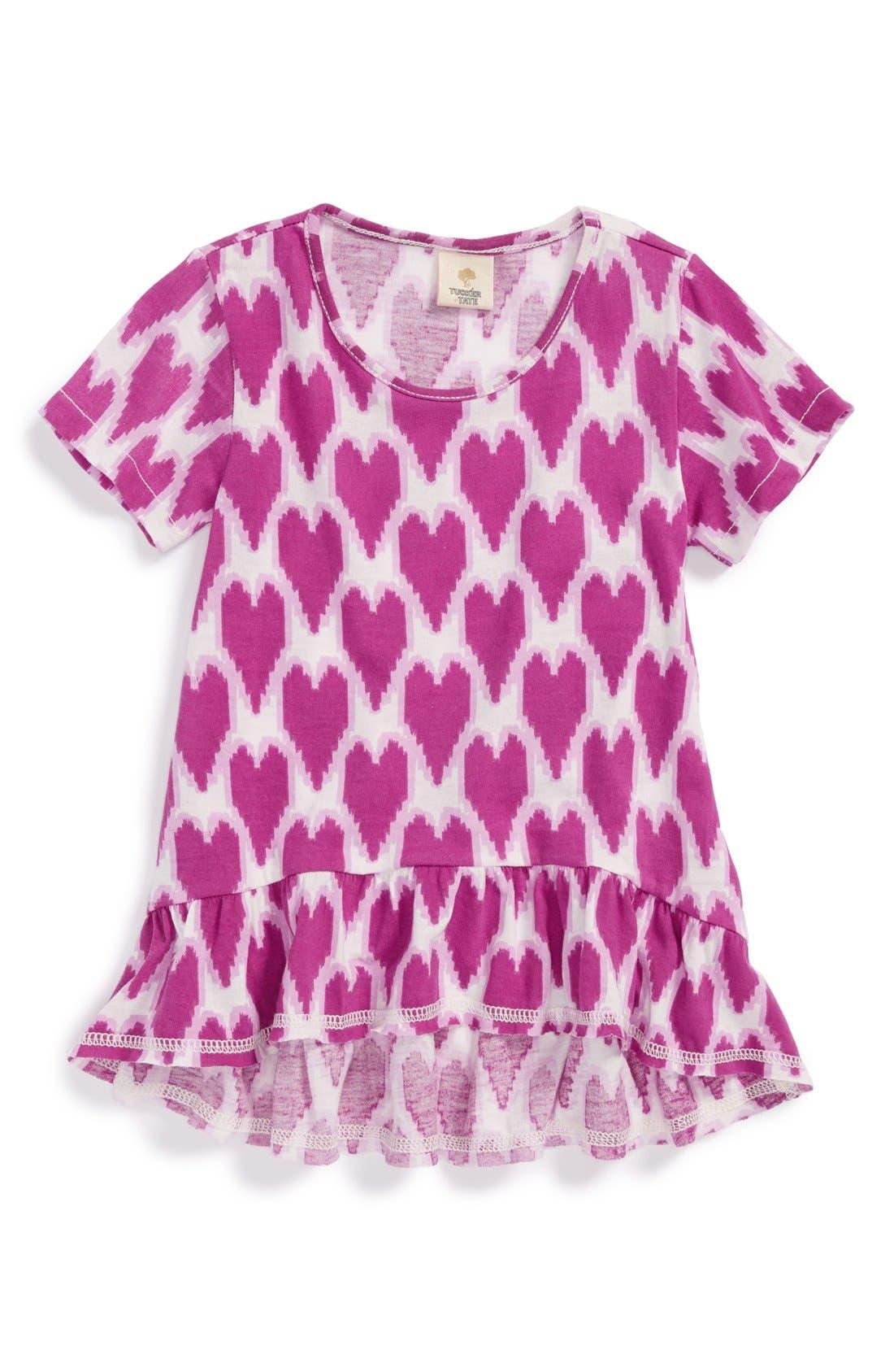 Alternate Image 1 Selected - Tucker + Tate 'Maiko' Print Top (Toddler Girls, Little Girls & Big Girls)