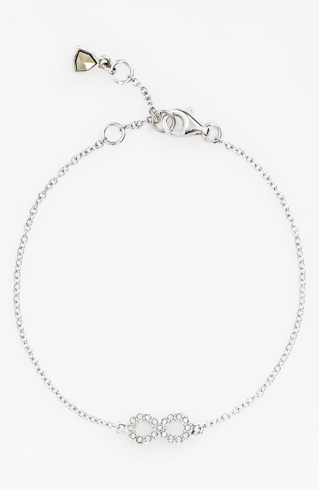 Alternate Image 1 Selected - Judith Jack 'Mini Motives' Infinity Symbol Station Bracelet