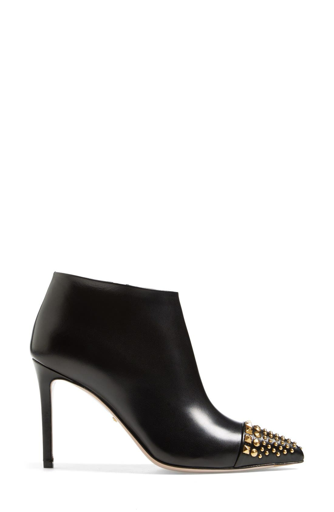 Alternate Image 4  - Gucci 'Coline' Studded Cap Toe Bootie (Women)