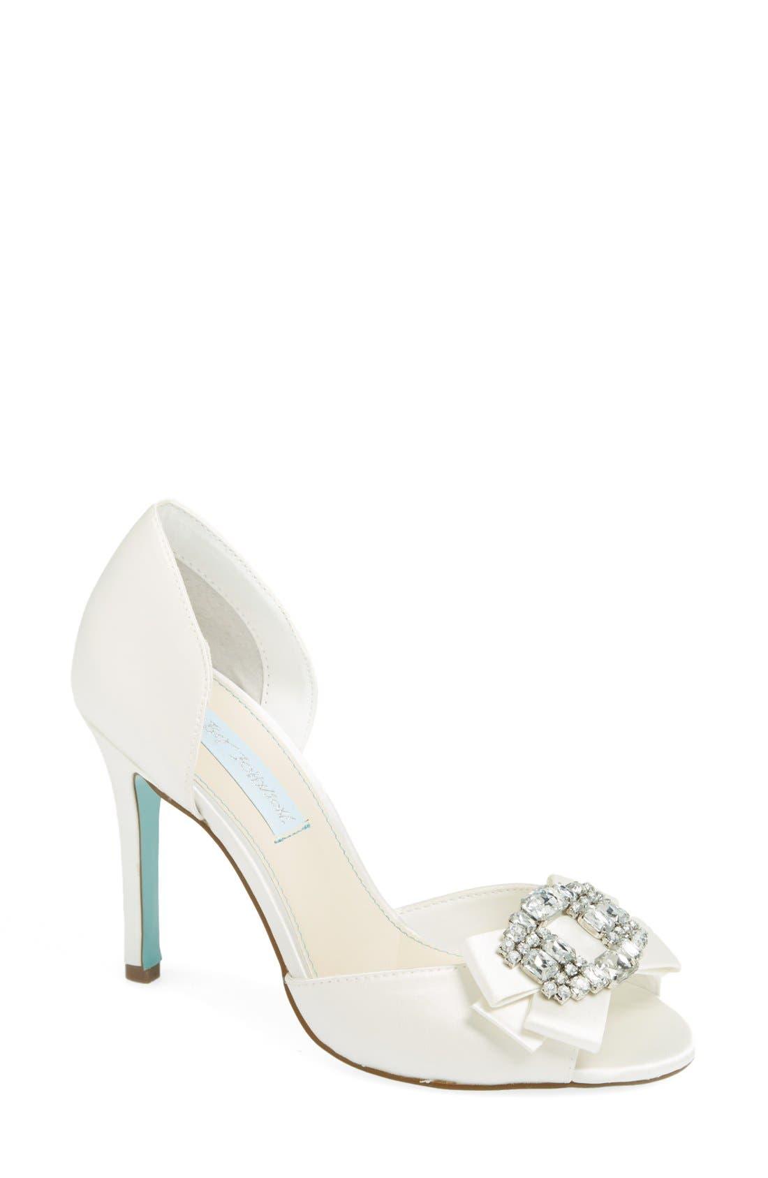 Alternate Image 1 Selected - Betsey Johnson 'Glam' Sandal