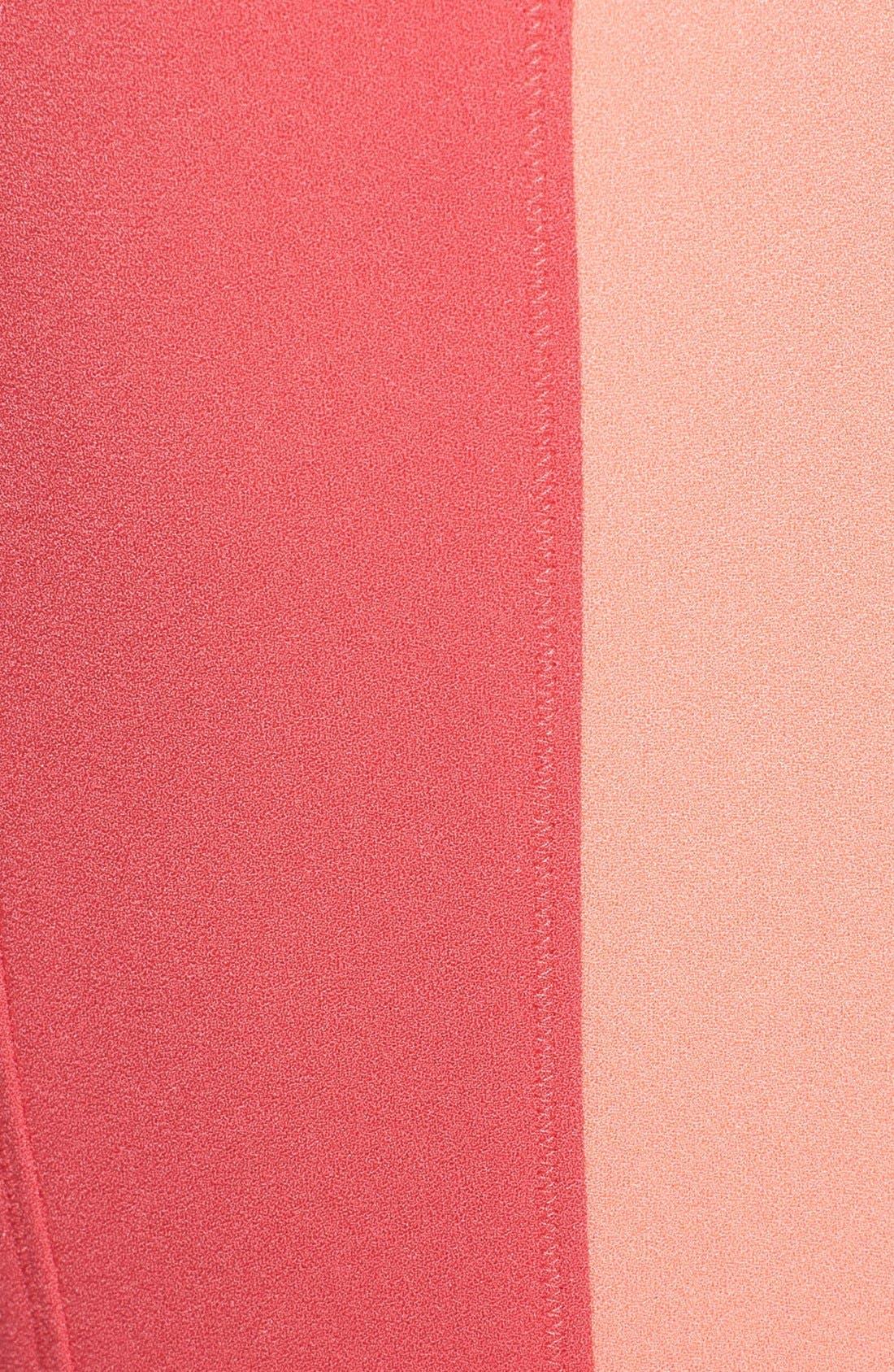 Alternate Image 3  - Elie Tahari 'Rosario' Colorblock Crepe Fit & Flare Dress