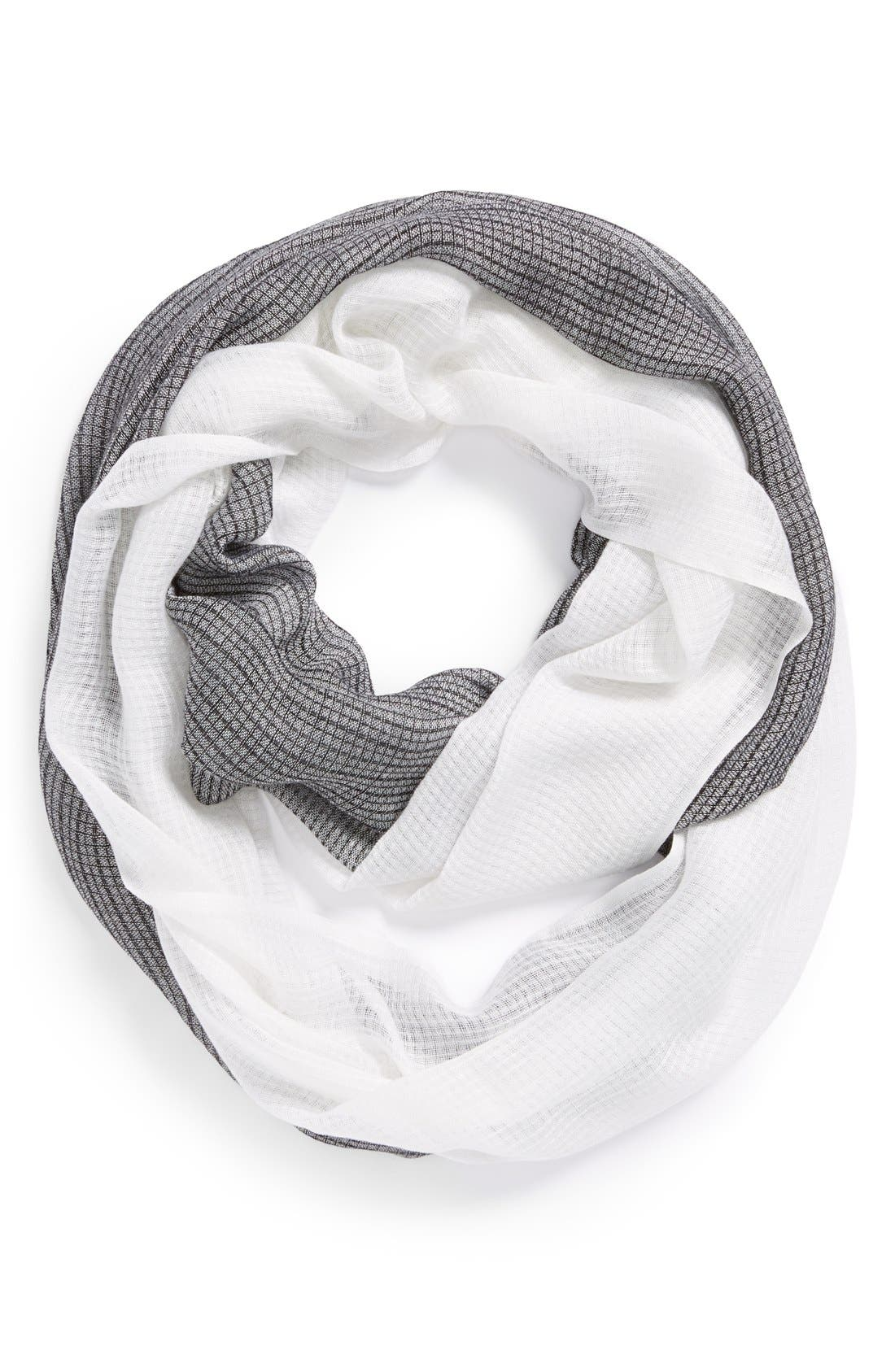 Alternate Image 1 Selected - Echo Colorblock Infinity Scarf