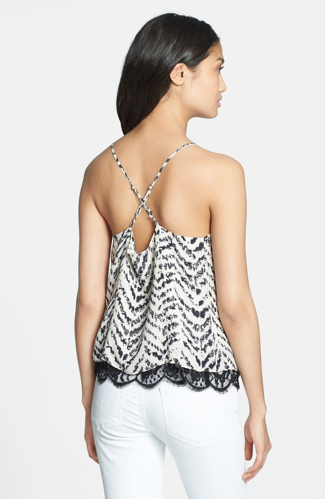 Alternate Image 2  - Parker 'Gully' Silk & Lace Camisole