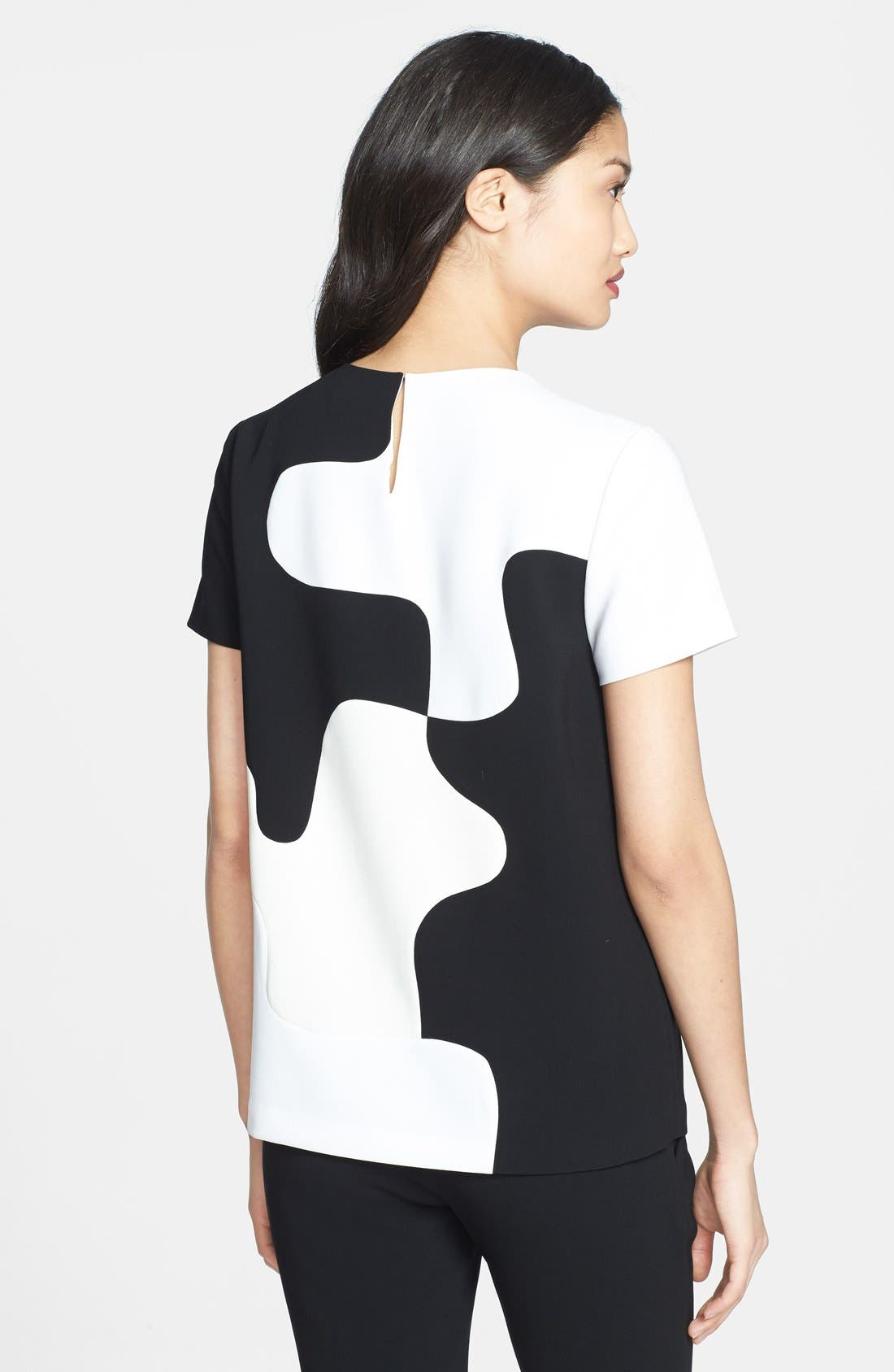 Alternate Image 2  - Diane von Furstenberg 'Mel' Colorblock Top