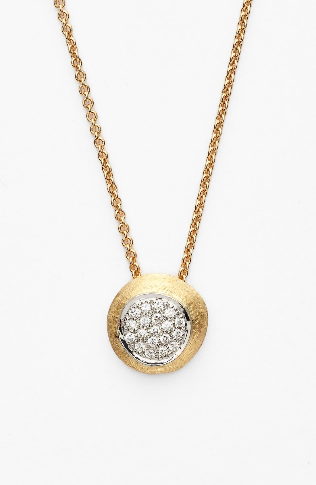 Alternate Image 1 Selected - Marco Bicego 'Delicati - Jaipur' Diamond Pendant Necklace