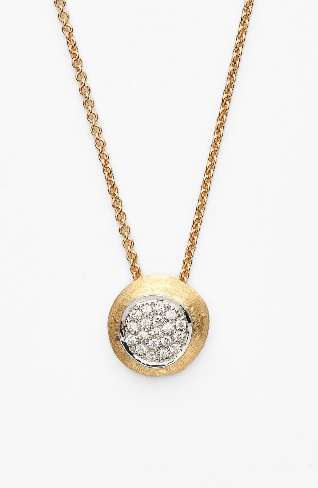 Marco Bicego 'Delicati - Jaipur' Diamond Pendant Necklace