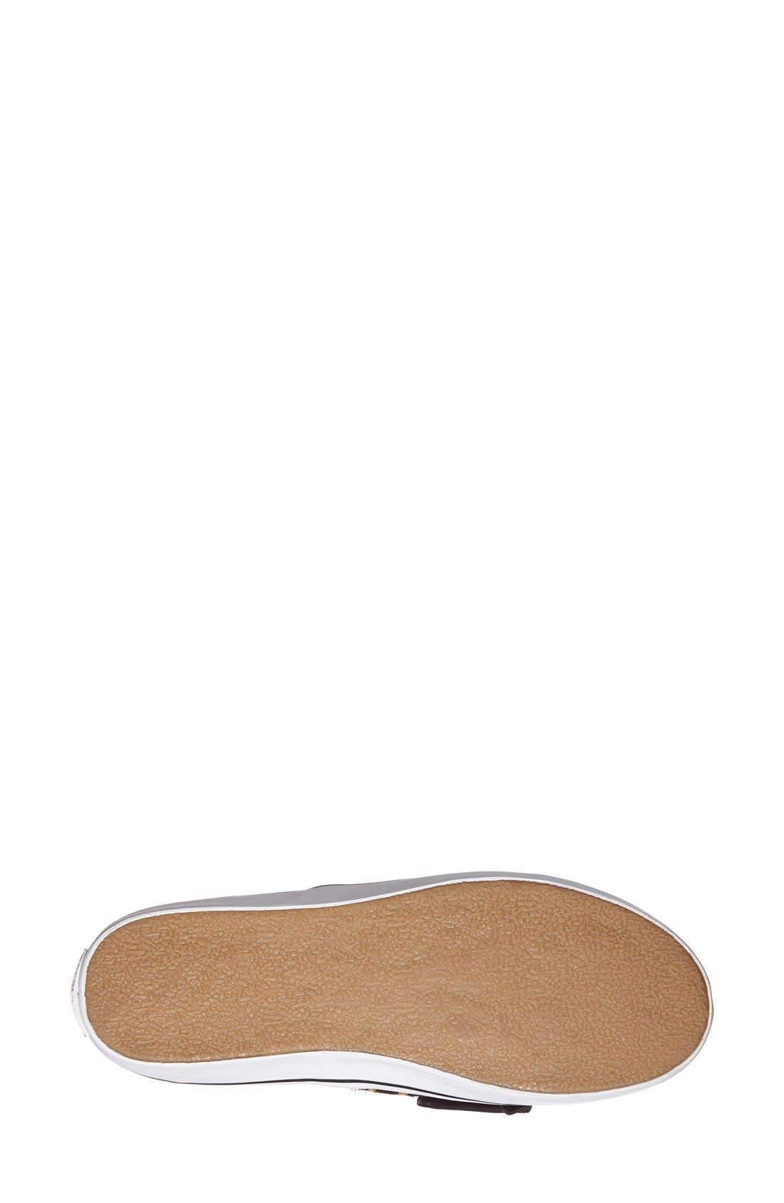'delise' slip-on sneaker,                             Alternate thumbnail 3, color,                             Camel\ Black