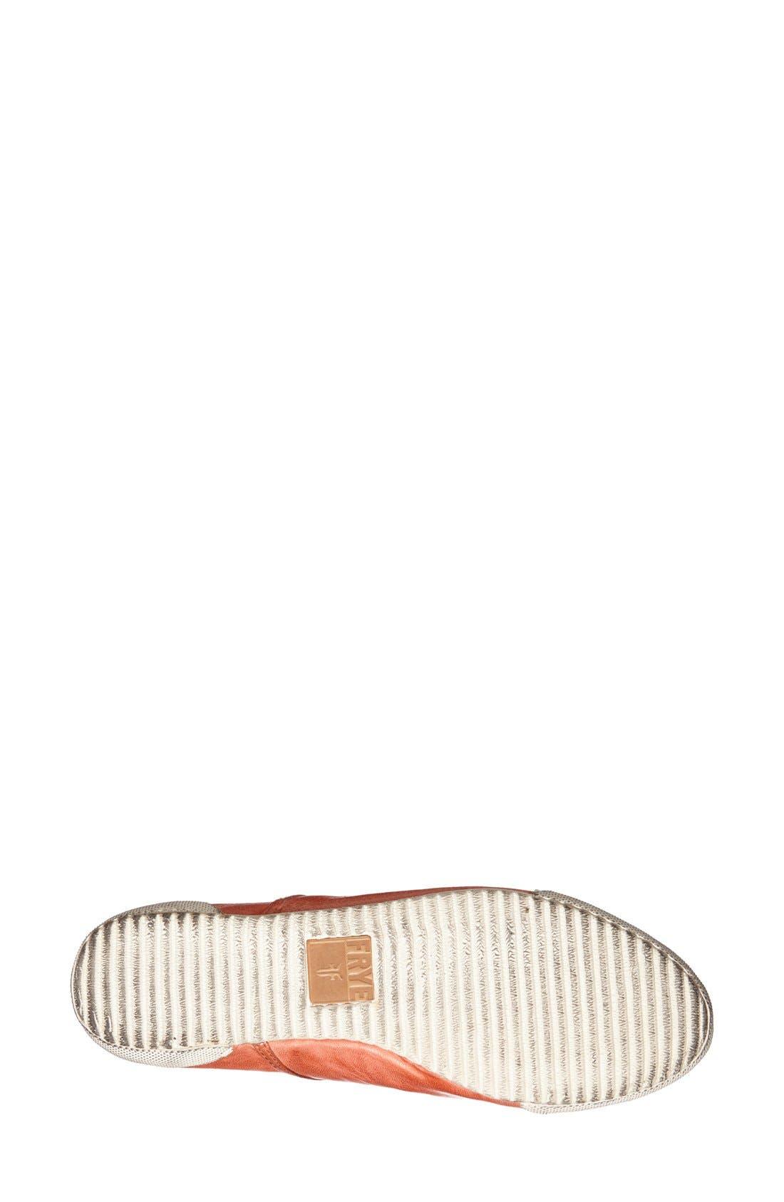 Alternate Image 4  - Frye 'Melanie' Leather Sneaker (Women)