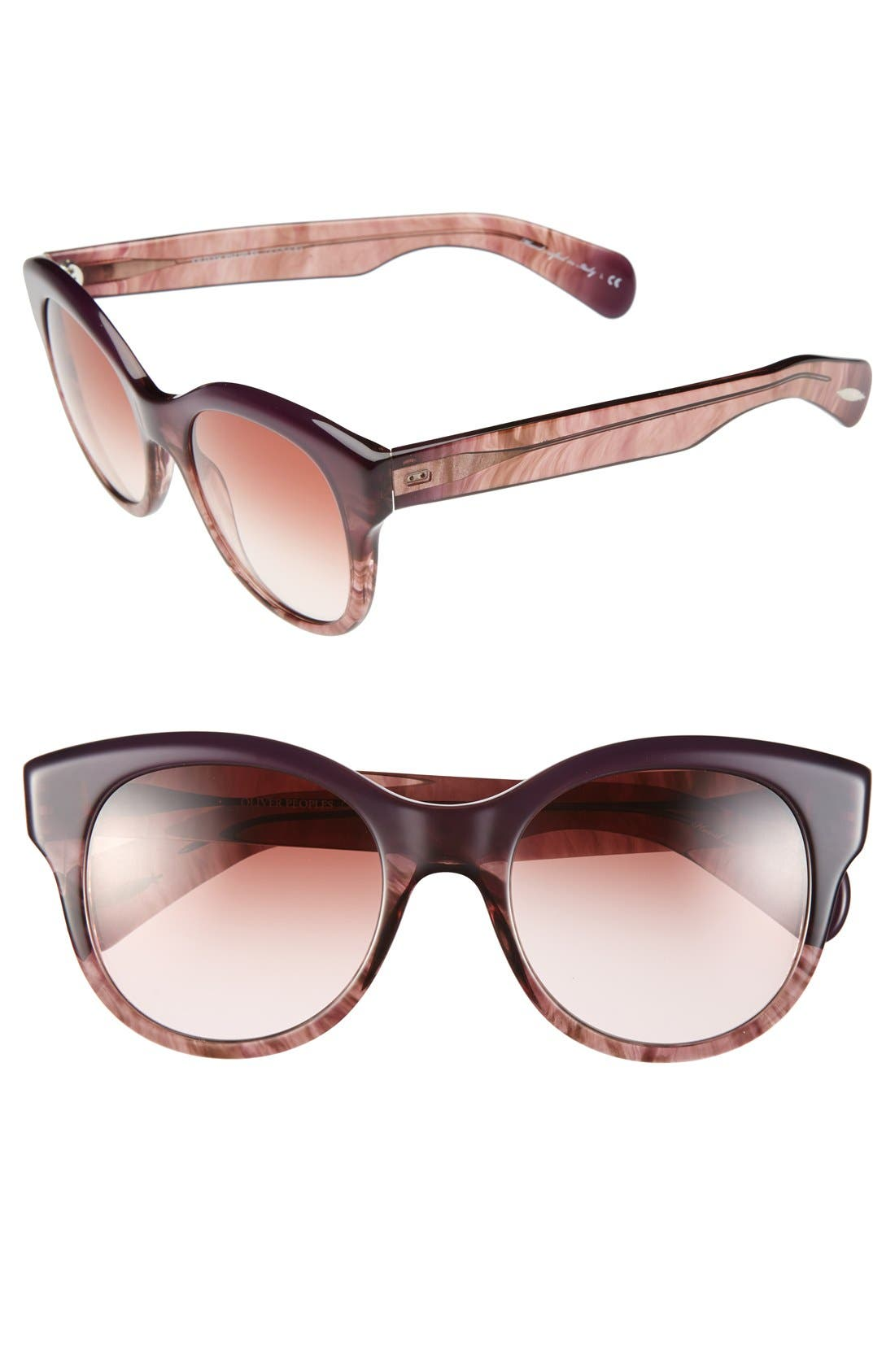 Oliver Peoples 'Jacey' 53mm Sunglasses