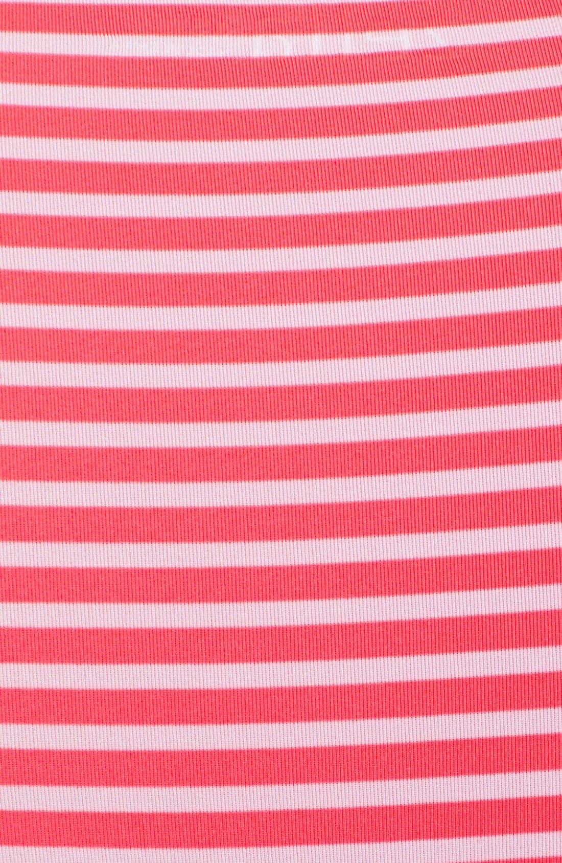 Alternate Image 4  - Zella 'Run' Stripe Half Zip Pullover