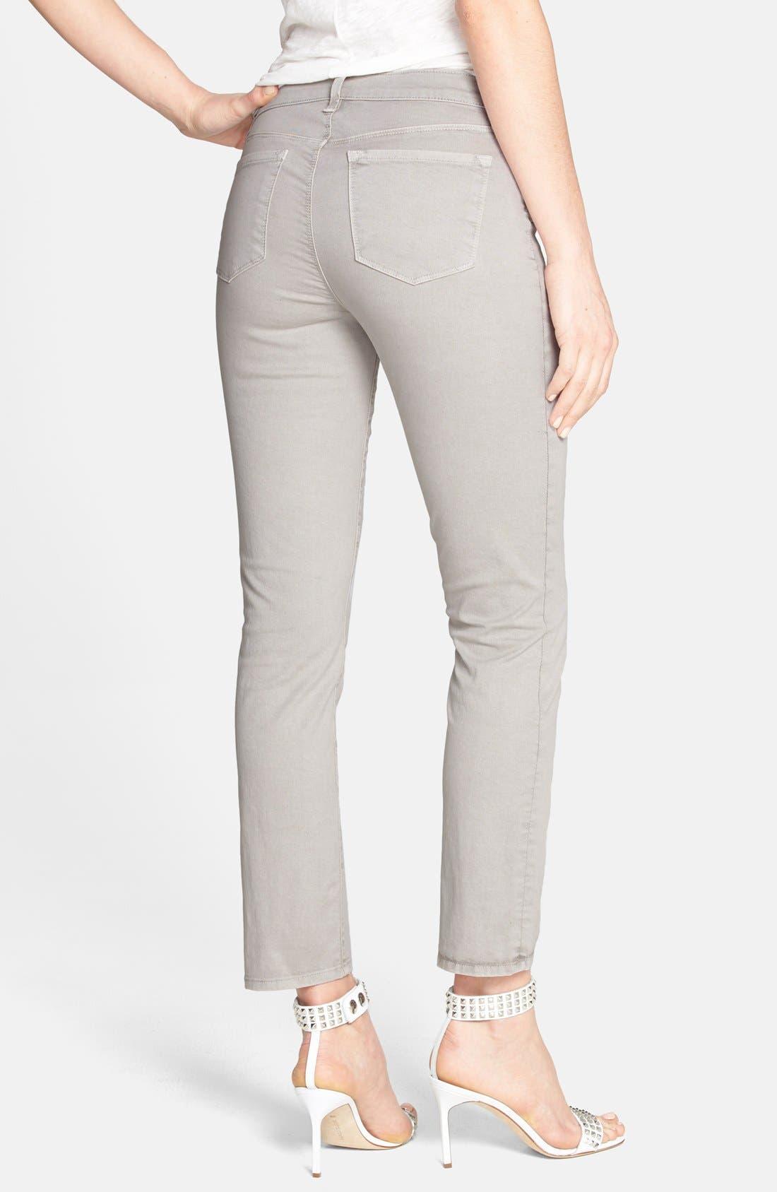 Alternate Image 2  - J Brand Crop Twill Pants