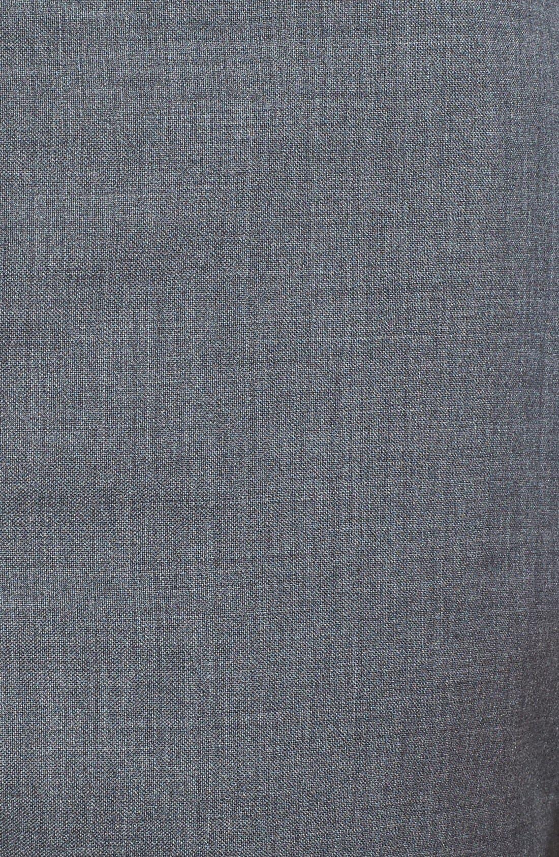 Alternate Image 2  - BOSS 'Sharp' Slim Fit Flat Front Wool Trousers