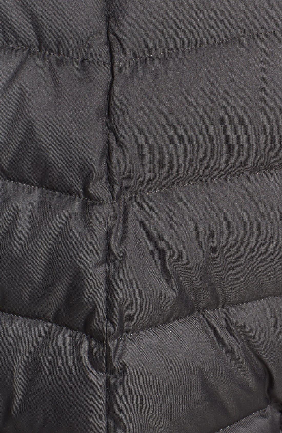 Alternate Image 3  - Cole Haan Oversize Collar Packable Long Down Coat