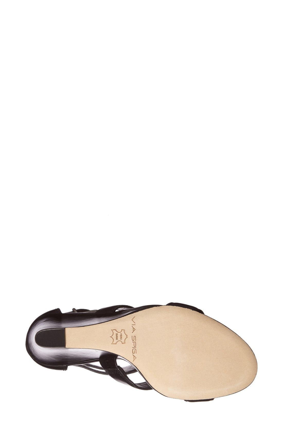Alternate Image 3  - Via Spiga 'Fernanda' Wedge Leather Sandal (Women)
