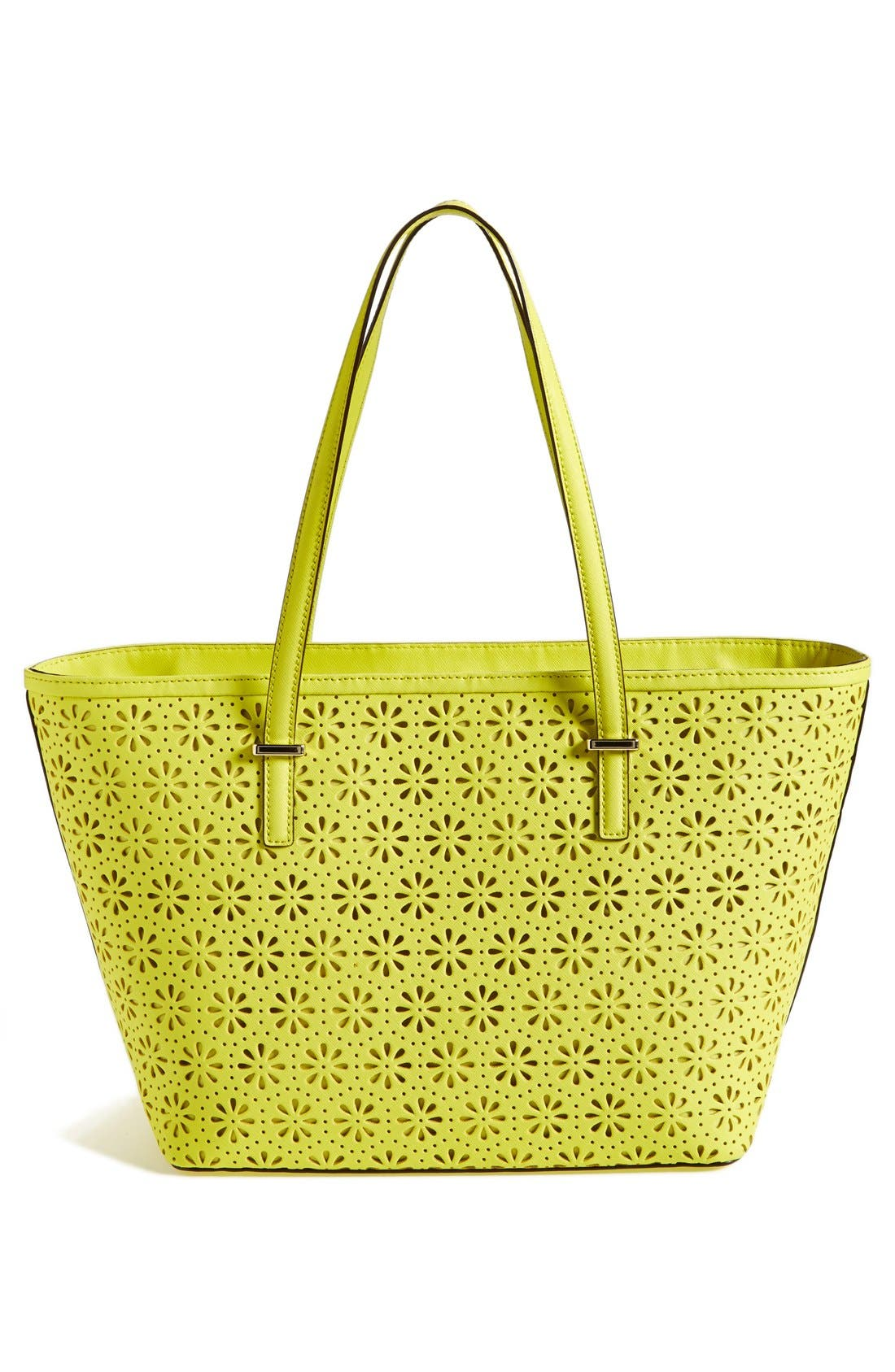 Alternate Image 4  - kate spade new york 'small cedar street - harmony' perforated leather tote