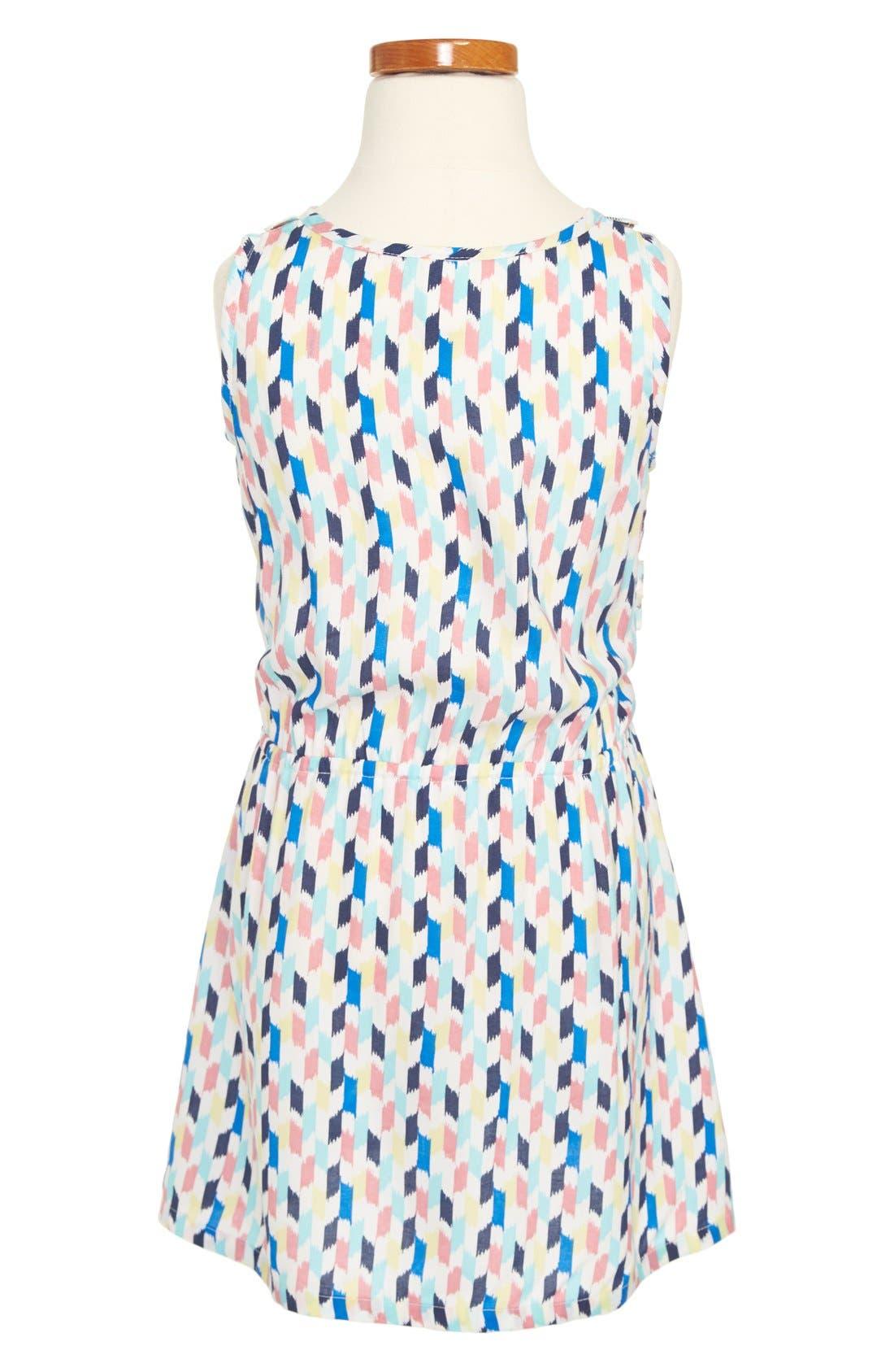 Alternate Image 2  - Tucker + Tate 'Emeline' Ikat Print Dress (Toddler Girls, Little Girls & Big Girls)