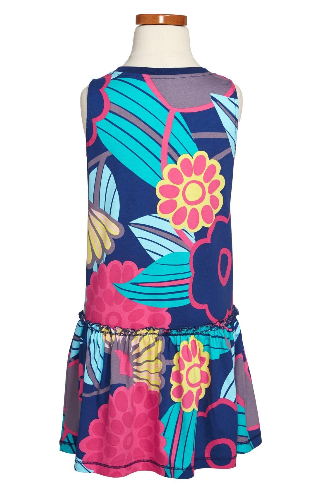 Alternate Image 2  - Tea Collection 'Mod Gypsy' Print Dress (Toddler Girls, Little Girls & Big Girls)