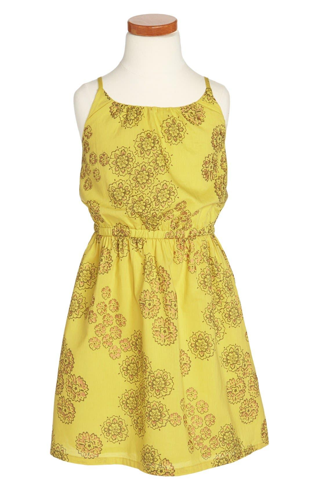 Main Image - Peek 'Violet' Cotton Sundress (Toddler Girls, Little Girls & Big Girls)