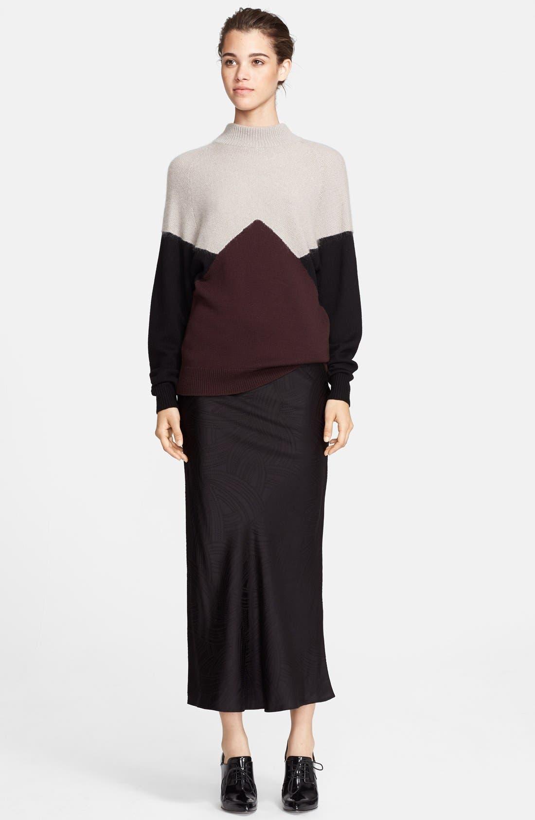 Alternate Image 3  - Jason Wu Jacquard Midi Skirt
