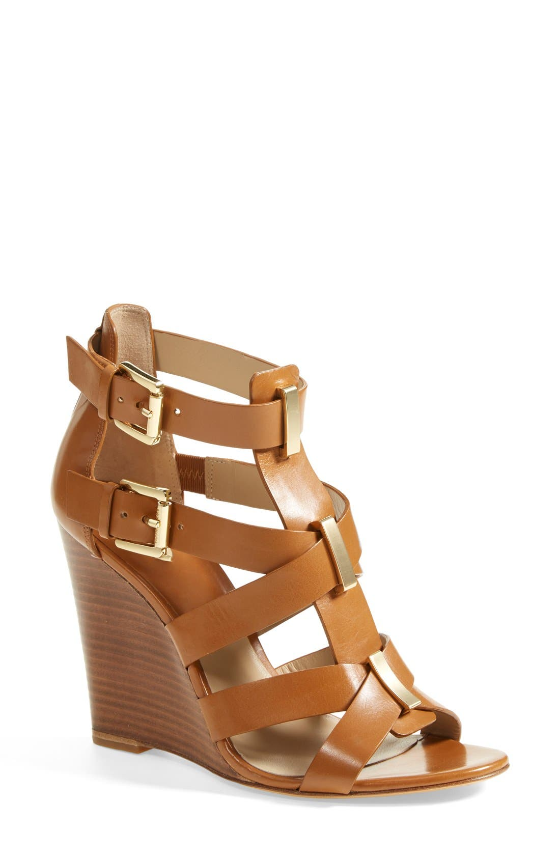 Alternate Image 1 Selected - Michael Kors 'Reagan' Wedge Sandal (Women)