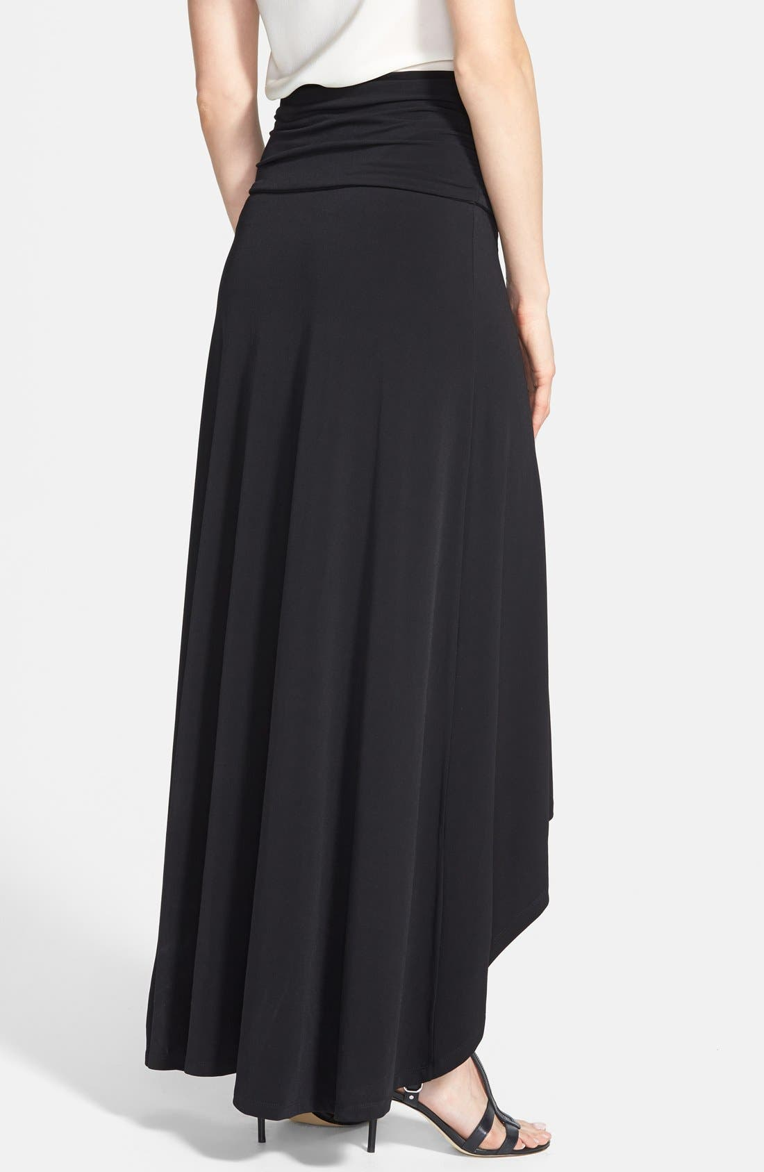 Alternate Image 2  - MICHAEL Michael Kors High/Low Maxi Skirt (Regular & Petite)