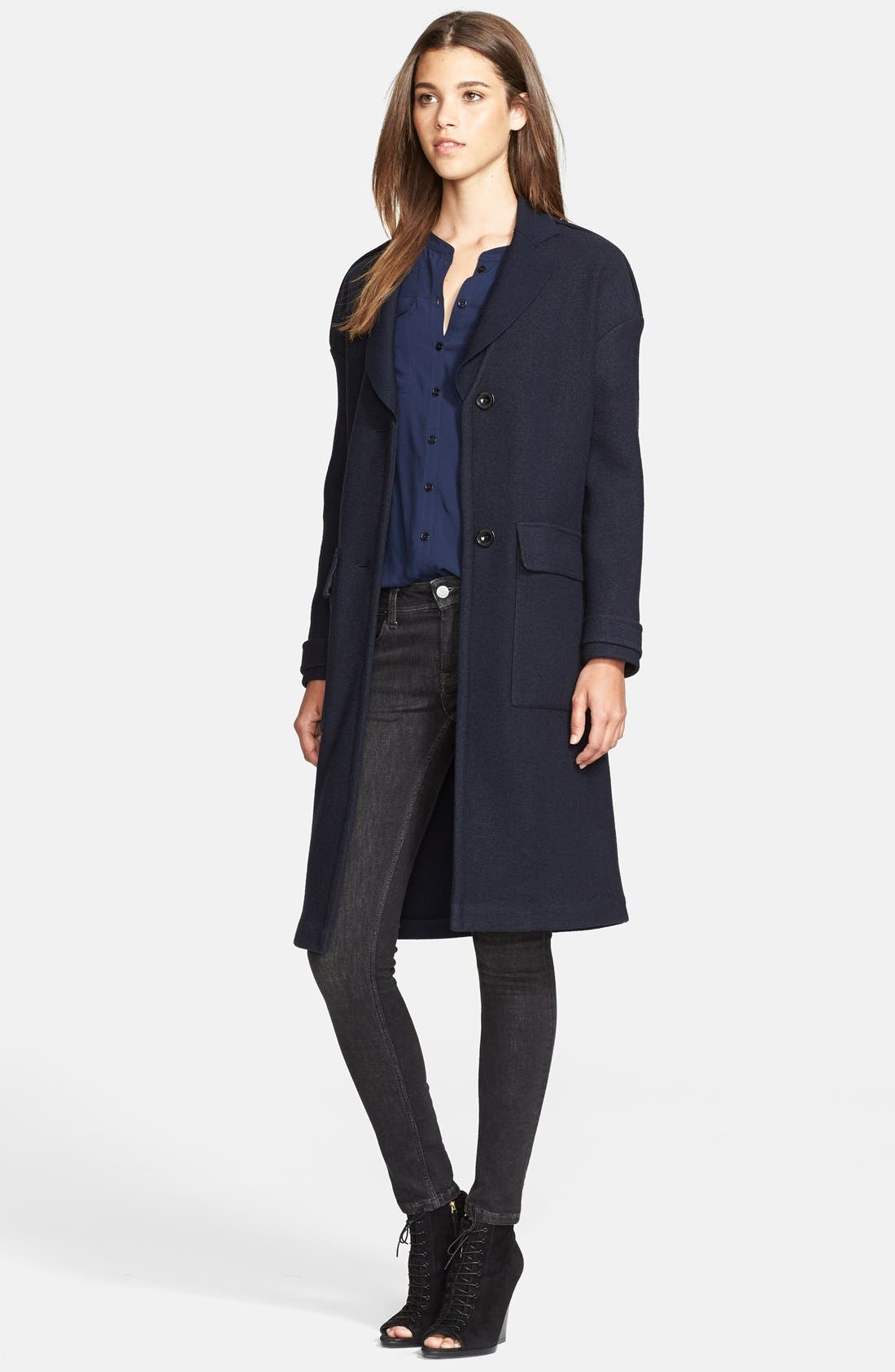 Alternate Image 3  - Burberry Brit 'Tylesmead' Wool Coat