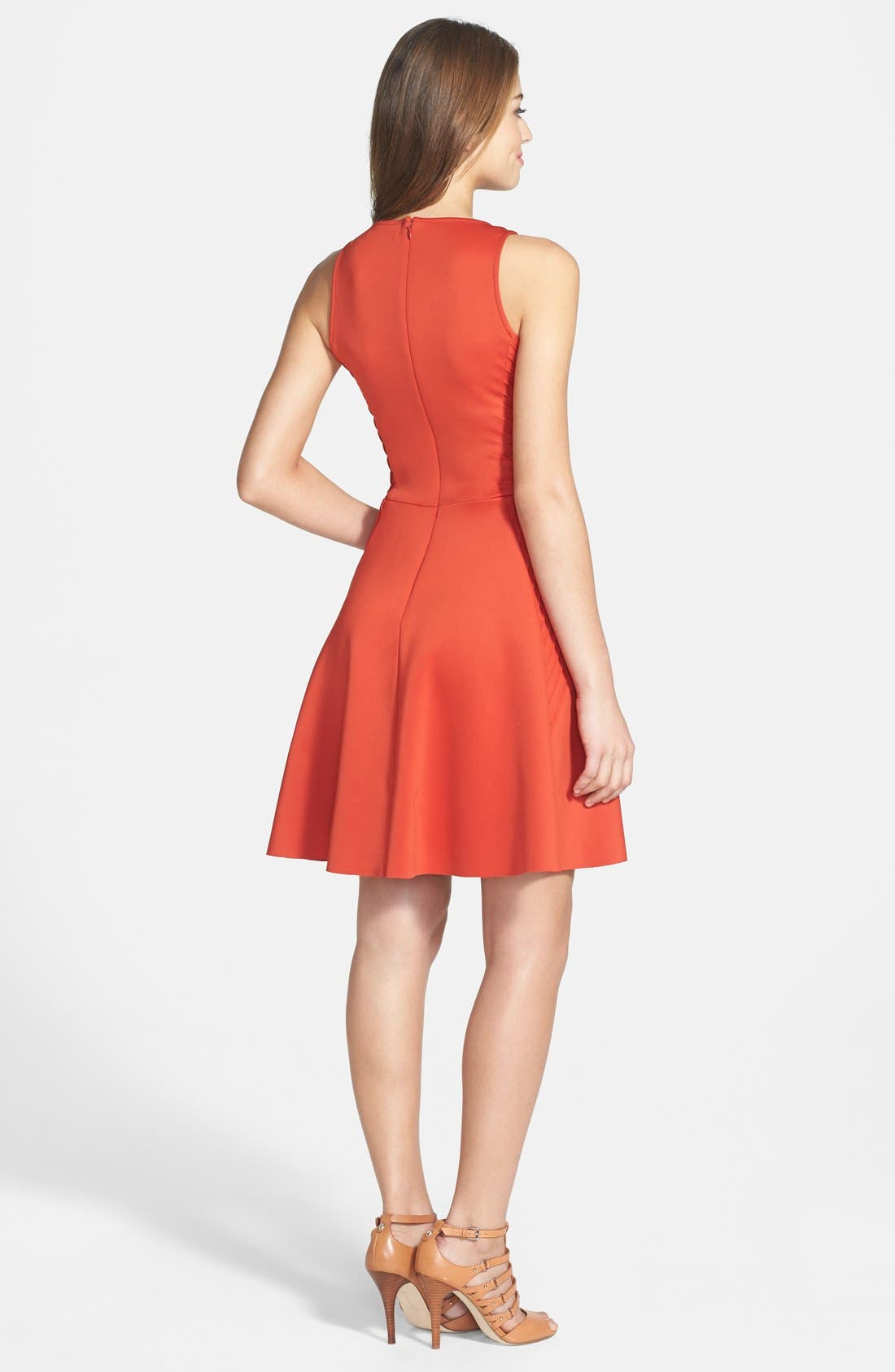 Alternate Image 2  - Ivy & Blu Woven Fit & Flare Dress