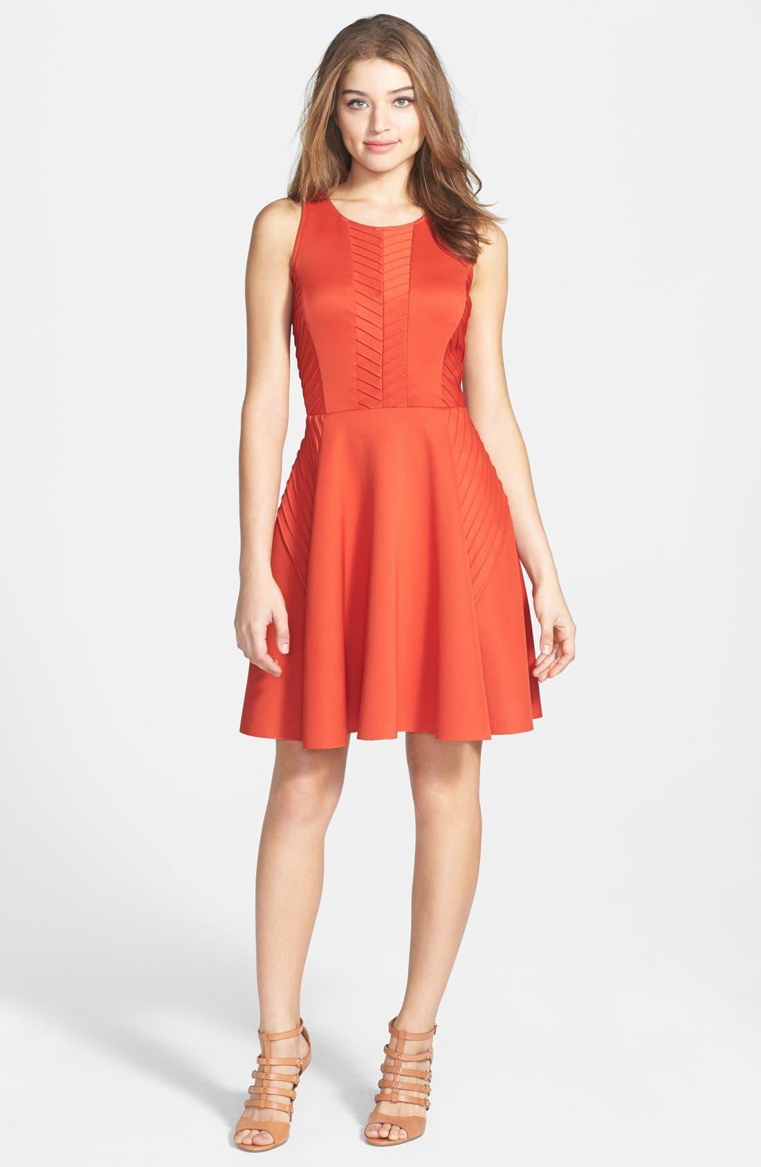 Alternate Image 3  - Ivy & Blu Woven Fit & Flare Dress