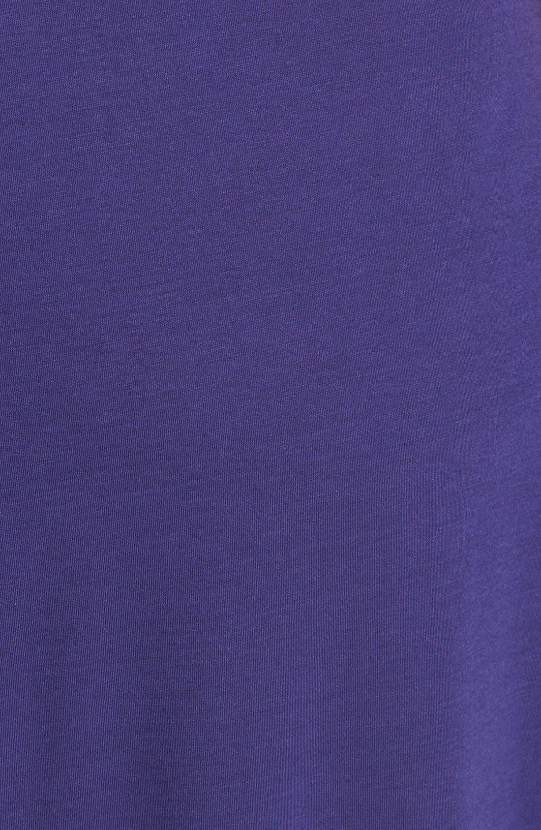 'Shangri La' Nightgown,                             Alternate thumbnail 3, color,                             Twilight Blue